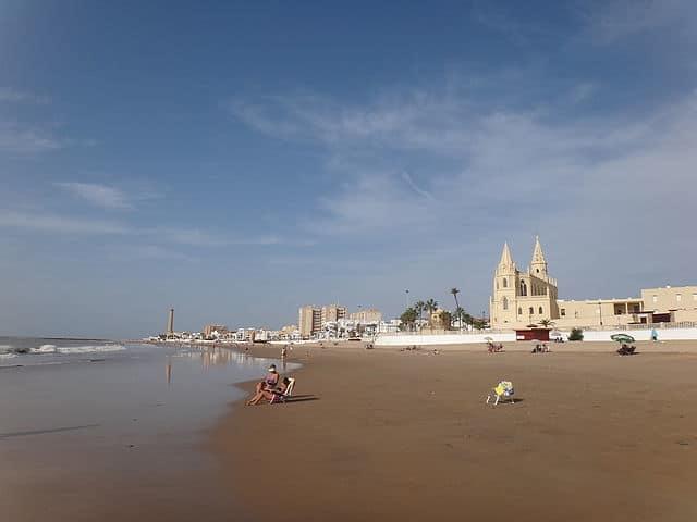 Santuario de Regla - vista desde la playa